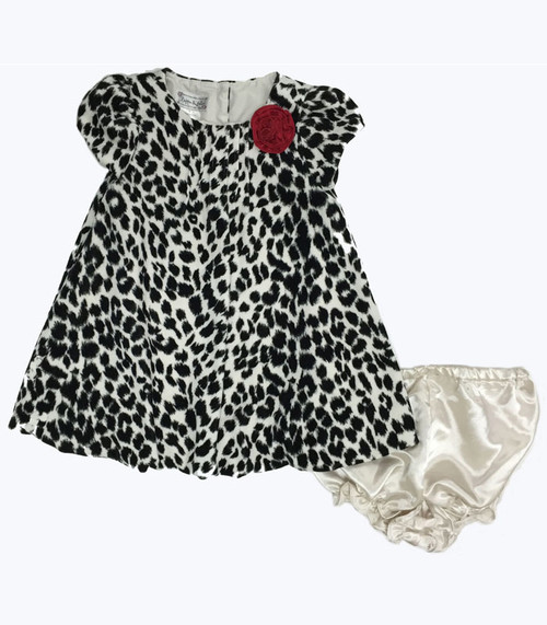 Animal Print Dress, Baby Girls
