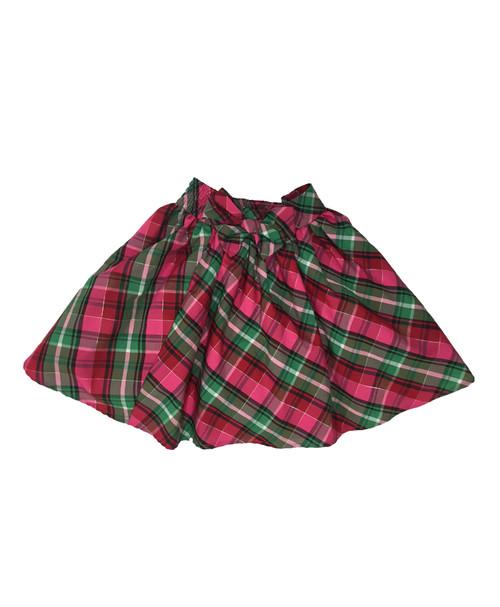 Plaid Bow Skirt