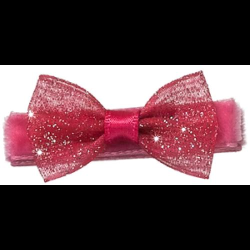 Pink Paisley Hair Clip