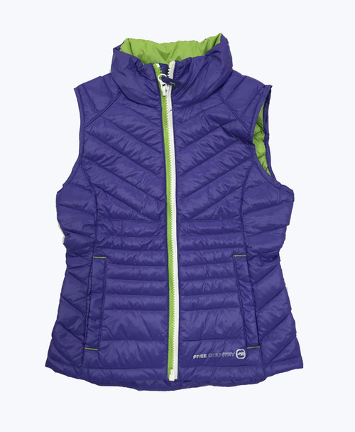 Lilac Power Down Vest, Little Girls