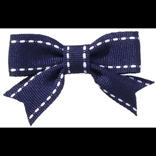 Navy Abby Hair Bow