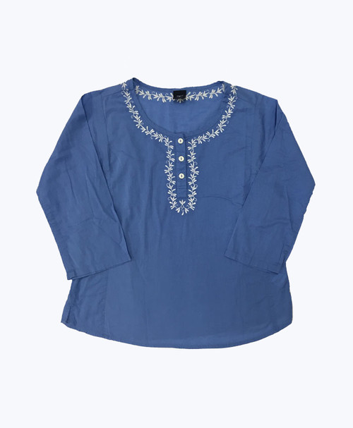 Embroidered Shirt, Little Girls
