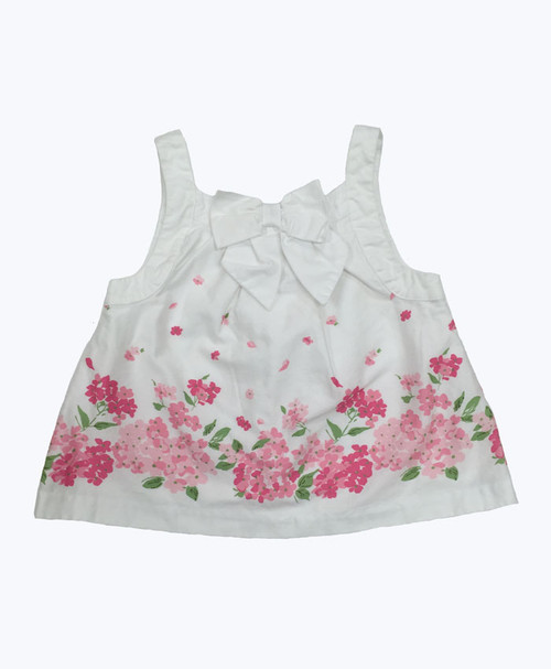SOLD - Bow Floral Tank