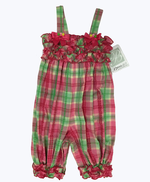Ruffle Seersucker Romper, Toddler Girls