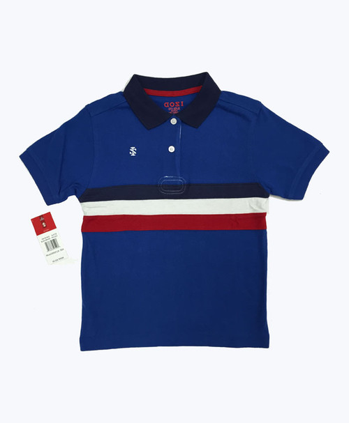 SOLD - Red/White/Blue Polo