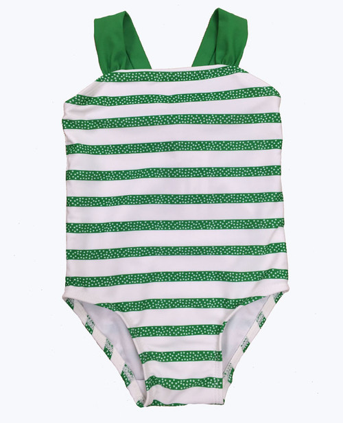 Stripes & Polka Dots Swimsuit