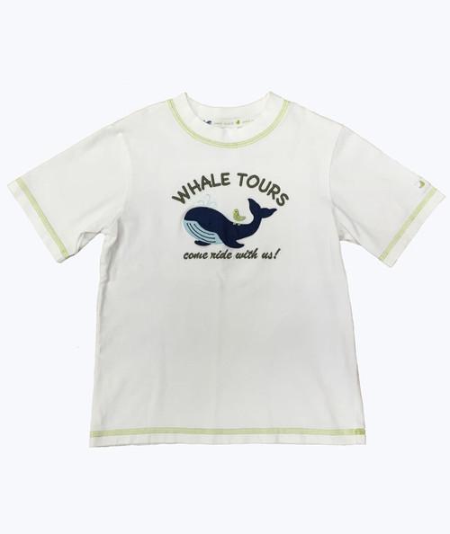 Whale Applique Tee Shirt