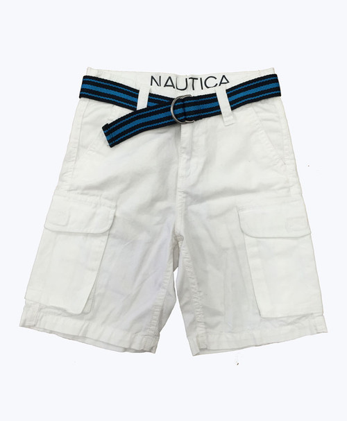 Belted Cargo Shorts, Little Boys
