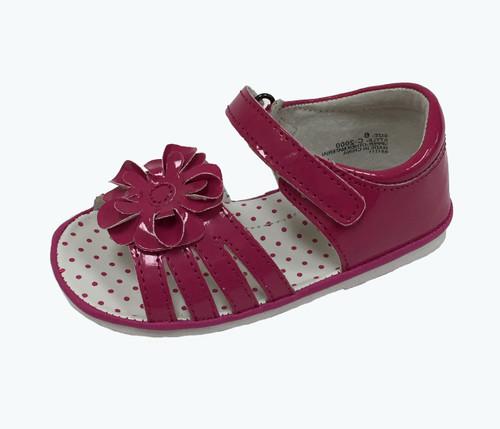 Fuchsia Flower Sandals