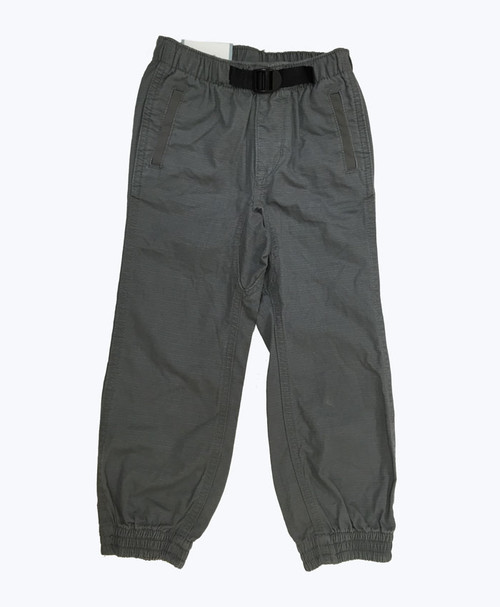 Gray Pull-On Pants, Toddler Boys