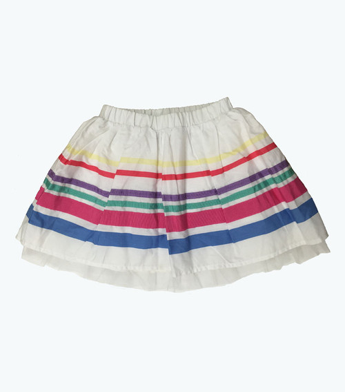 Ribbon Striped Skirt, Toddler Girls