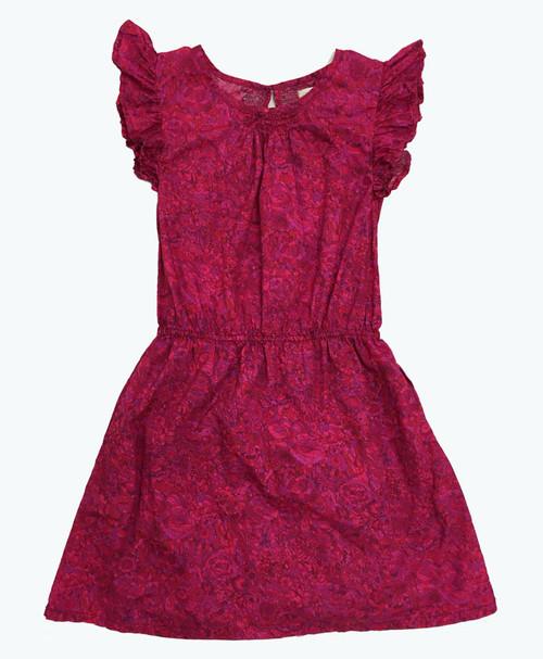 Floral Print Dress, Big Girls