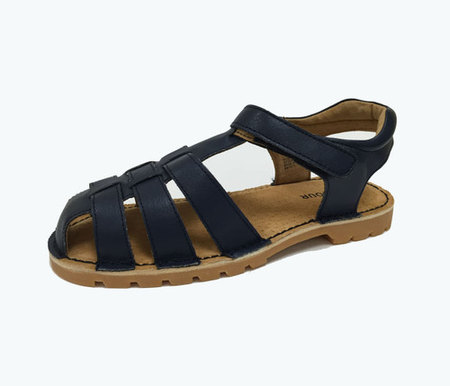 Navy Fisherman Sandal