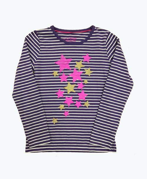 Stripes & Stars Tee, Little Girls