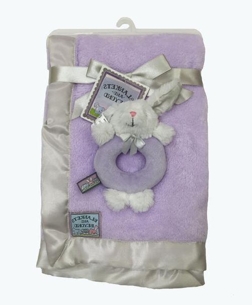 Bunny Rattle & Blanket