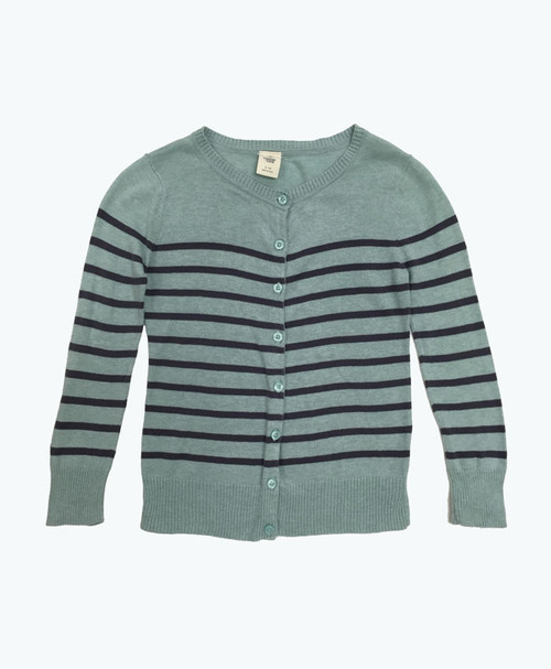 Striped Cardigan, Little Girls