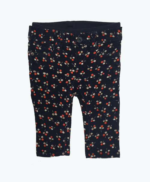 Berries Pull-On Corduroy, Baby Girls