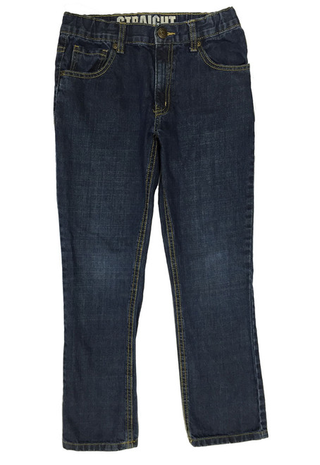 Straight Husky Denim Jeans, Big Boys
