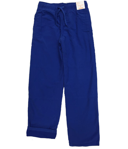 Blue Jersey-Lined Active Pants, Big Boys