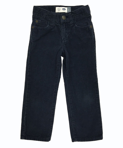 Straight Navy Corduroy, Toddler Boys
