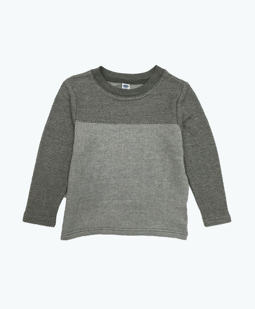 Gray Color Blocks Top, Toddler Boys