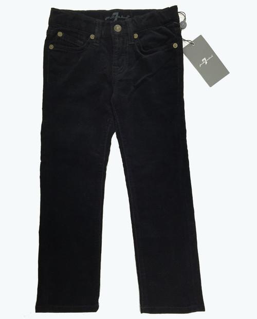 5-Pocket Black Corduroy Pants, Toddler Girls