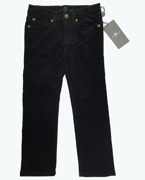 5-Pocket Black Corduroy Pants, Toddler Girls