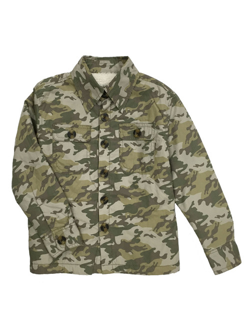 Faded Camo Jacket, Toddler Boys