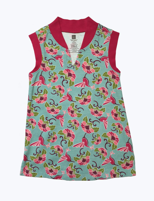 Hummingbird Floral Dress, Little Girl