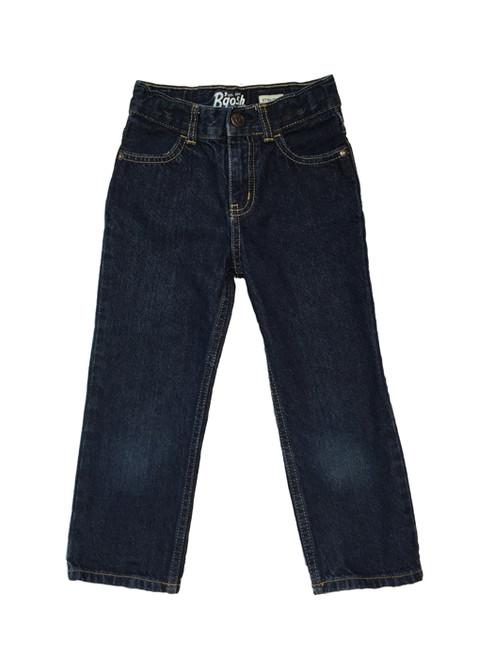 Straight Dark Denim Jeans, Toddler Boys
