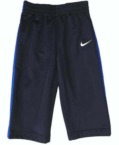 Baby Boy Navy Blue Track Pants