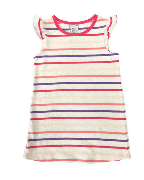 Pink Striped Sun Dress, Toddler Girl