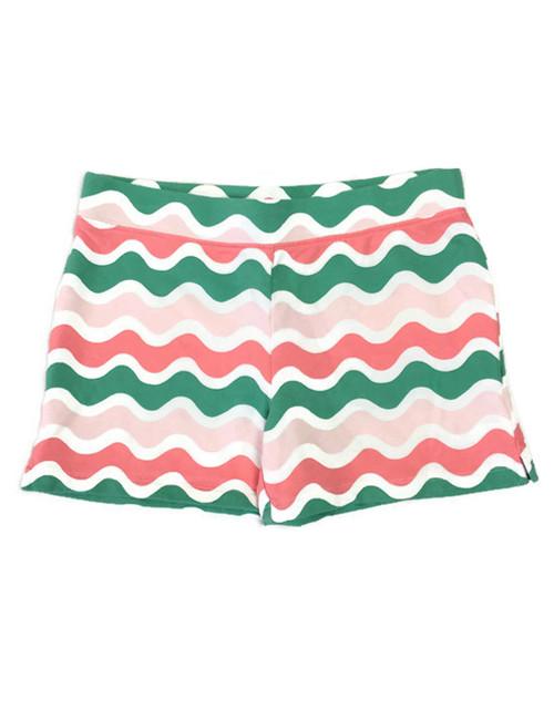 Wave Pull-On Shorts, Big Girls