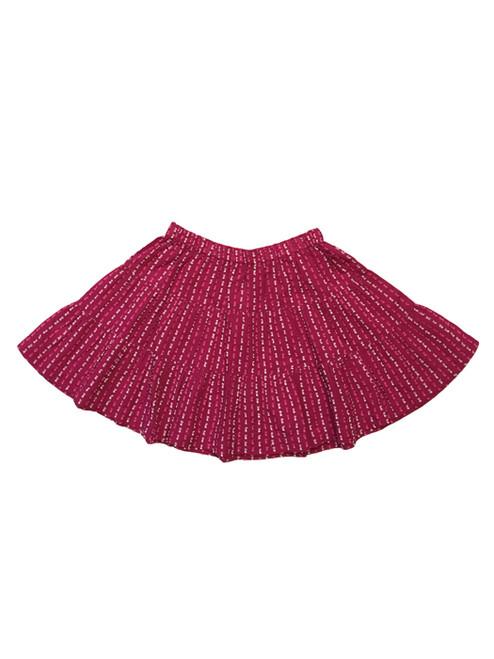 'Karuli' Tiered Woven Skirt, Toddler Girls
