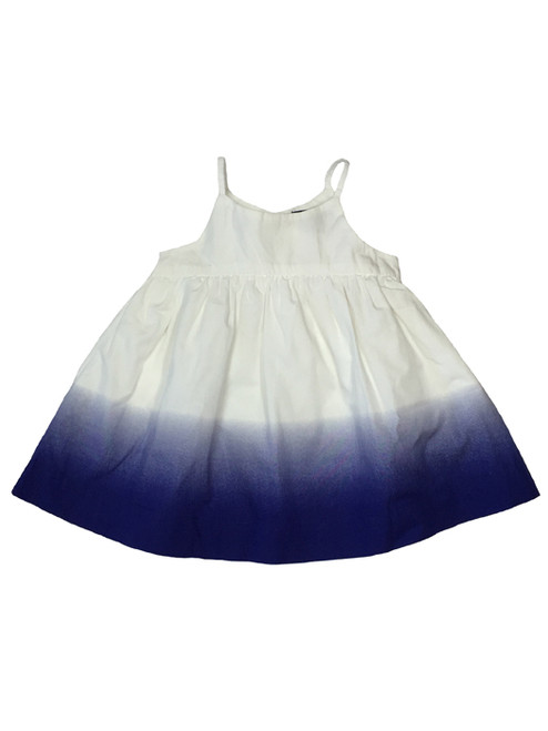 Indigo Blue Ombre Sundress, Baby Girls
