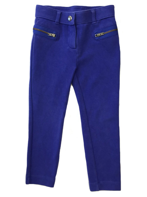 Royal Blue Skinny Pants, Toddler Girls