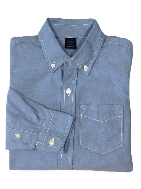 Oxford Button-Down Shirt, Big Boys