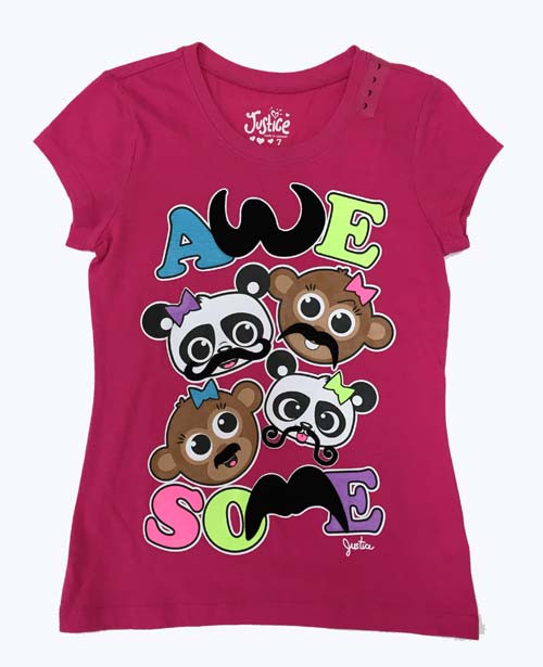 SOLD - Girl Graphic Tank - Awe