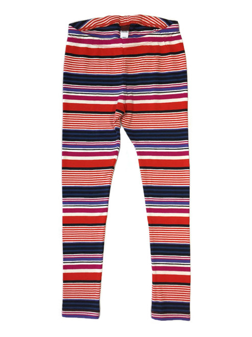 Multistripe Leggings, Little Girls
