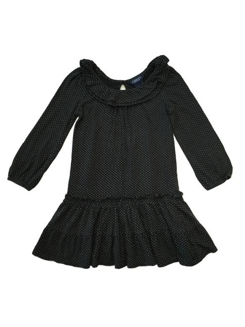 Black Ruffle Dress, Toddler Girls