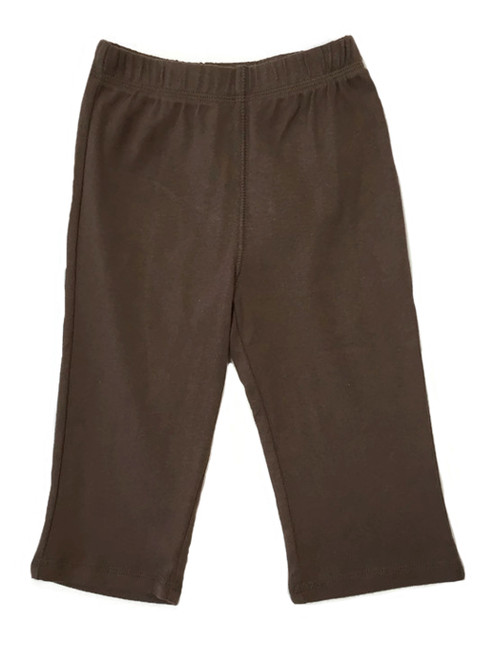 Brown Monkey Knit Pants, Baby Boys