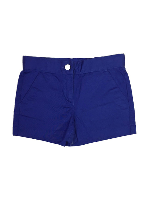 Royal Blue Shorts, Little Girls