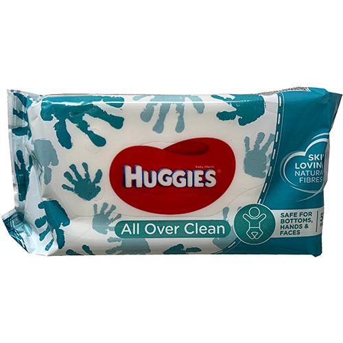 HUGGIE BABY WIPES 56CT(5/22)CLEAN