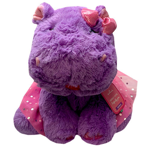 H/M PLUSH($24.99)DARLA THE HIPPO/NI