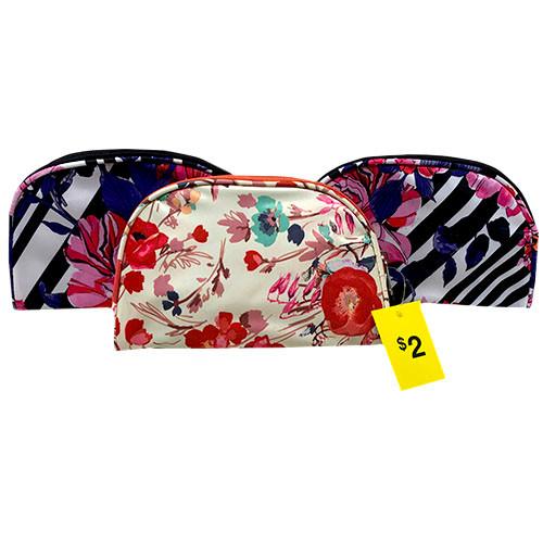 ROUND TOP COSMETIC BAG($2)ASST-NI