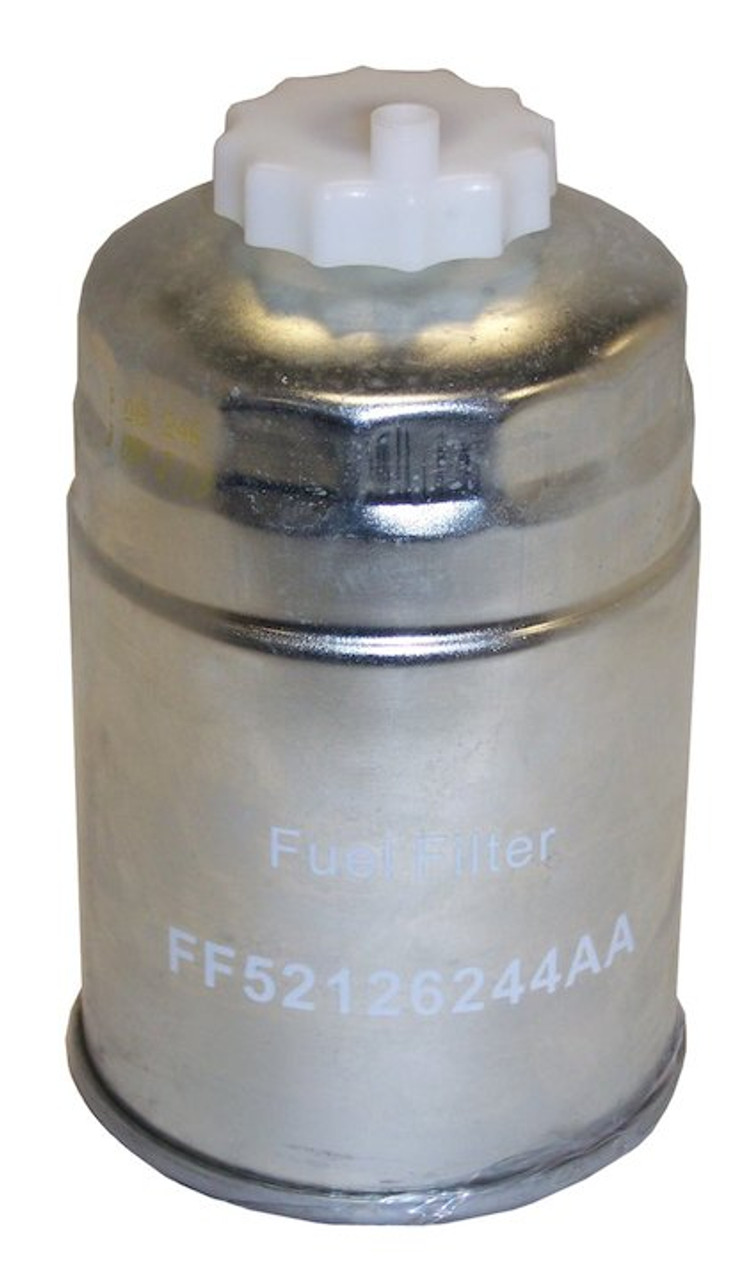 Fuel Filter (52126244AA) fits { JK } Jeep Wrangler (2007-2018) { KA } Dodge  Nitro (2007-2011) { KK } Jeep Liberty (2008-2012) { RT } Dodge Grand  Caravan (2007-2018) { RT }Overly's Off Road