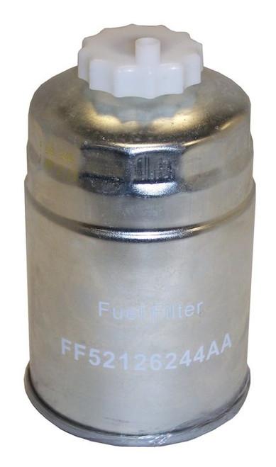 fuel filter (52126244aa) fits { jk } jeep wrangler (2007-2018) { ka } dodge  nitro (2007-2011) { kk } jeep liberty (2008-2012) { rt } dodge grand  caravan