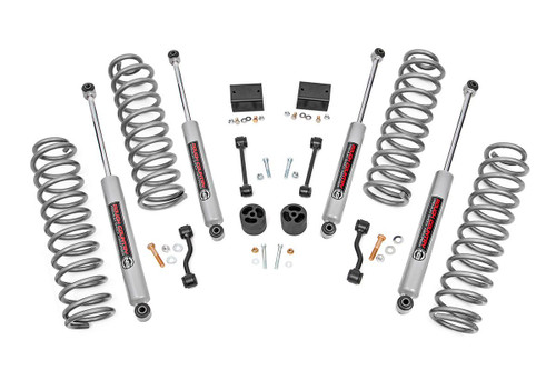 2.5in Jeep Suspension Lift Kit | Springs (18-20 Wrangler JL Rubicon) (66630) Fits 2018-2020:4WD:Jeep:Wrangler JL Unlimited Rubicon
