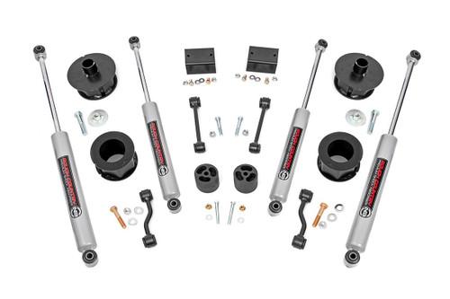 2.5in Jeep Suspension Lift Kit (18-20 Wrangler JL) (67730) Fits 2018-2020:4WD:Jeep:Wrangler JL (2 Door);2018-2020:4WD:Jeep:Wrangler JL Unlimited