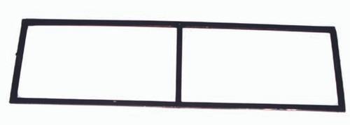 Windshield Frame, Willys Script, 46-49 Willys CJ2A (DMC-663628)